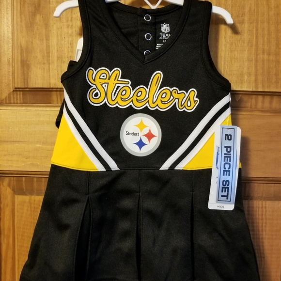 e693f3d23 Pittsburgh Steelers NFL Baby Cheerleader Outfit